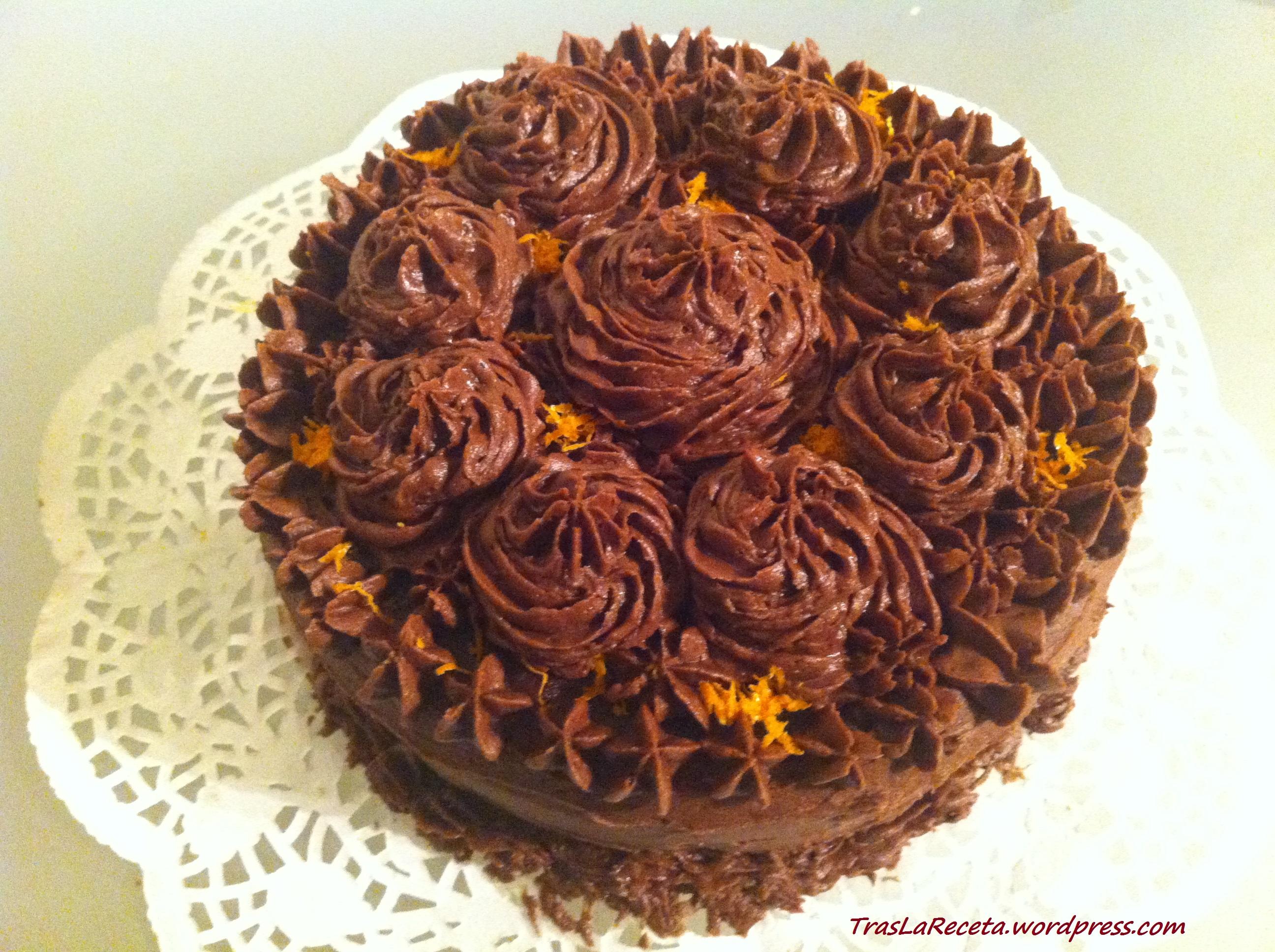 Baño De Chocolate Para Tartas | Crema De Mantequilla Cobertura Para Pasteles Tras La Receta