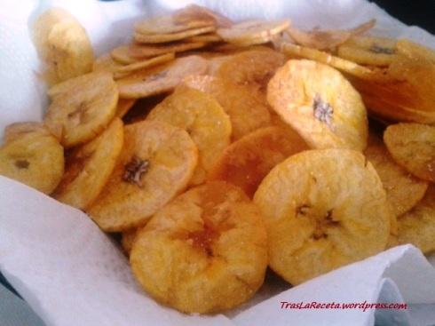chips de plátano o mariquitas