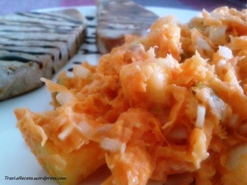 ensaladilla de zanahoria rallada 2