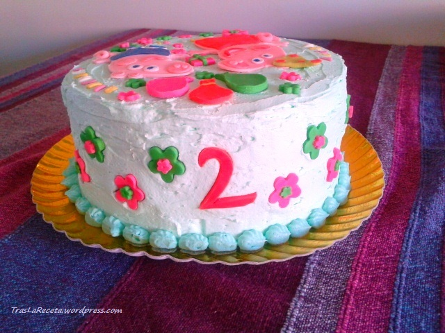George Birthday Cake