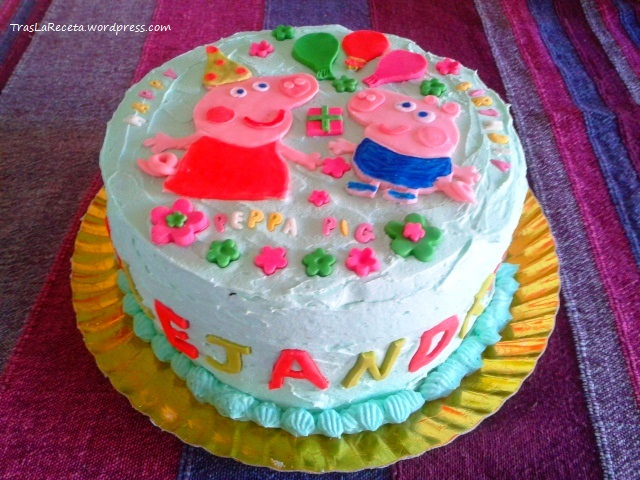 Peppa Pig Cake Topper Figurines