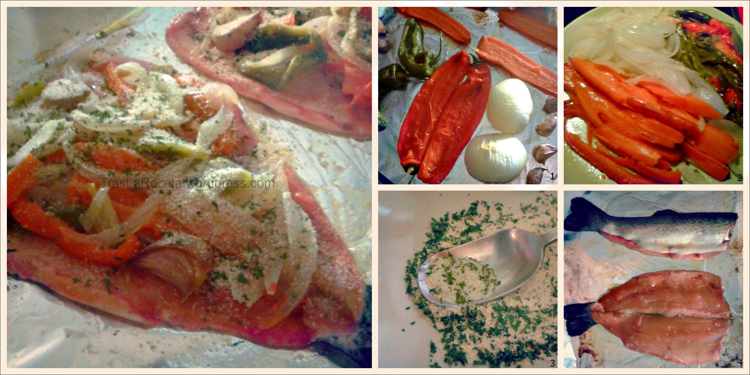 Bonito cocinar trucha fotos receta sencilla truchas al for Resetas para cocinar