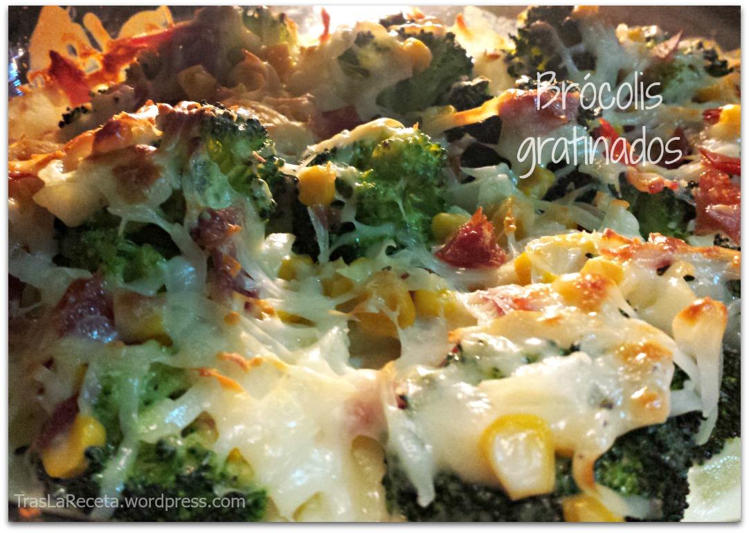 receta facil de brocoli gratinado